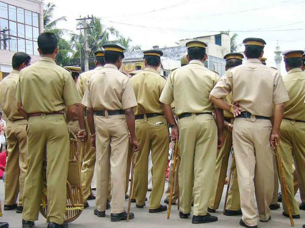 Vehicle Checking Police Attack Youth Thiruvananthapuram