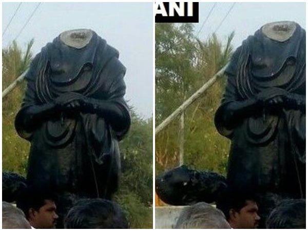 പുതുക്കോട്ടയിൽ പെരിയാർ പ്രതിമയുടെ തല വെട്ടി.. സിആര്പിഎഫ് ജവാൻ അറസ്റ്റിൽ, മദ്യലഹരിയിലെന്ന് മൊഴി