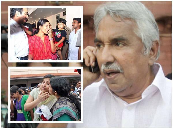 Oomen Chandy Fb Post About Iraq Nurses Rescue