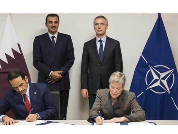 Qatar And Nato Signs Pact