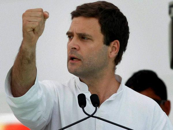 Pm Modi Is Corruption Rahul Gandhis Scathing Attack At Congress Meet