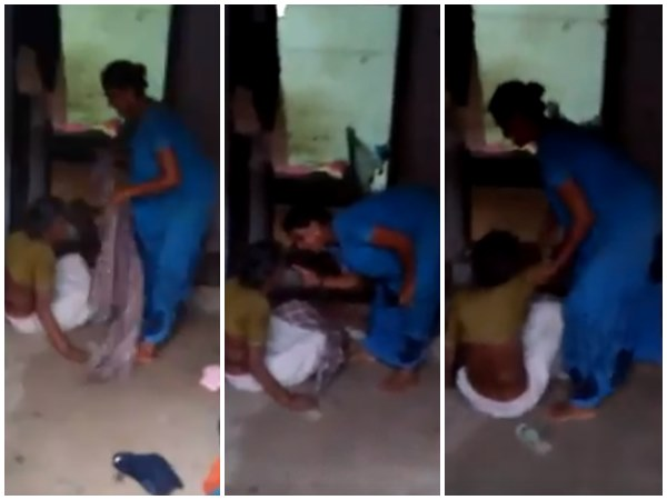 Police Registered Case Against Grand Daughter For Beating Grand Mother