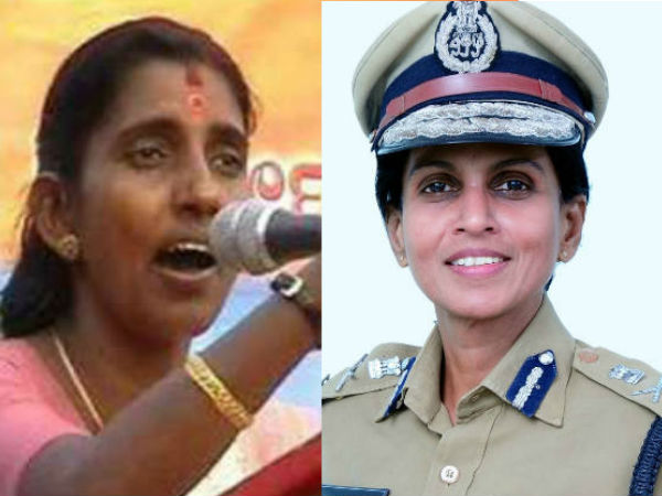 Media Report Kp Sasikala Against Dgp R Sreelekha Ips On Kannur Womens Jail Controversy