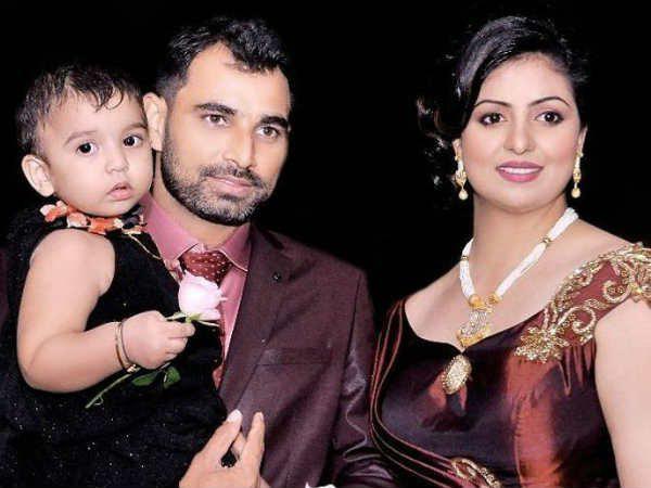 Mohammed Shami Family Wife Hasin Jahan Daughter Aairah Cricket India