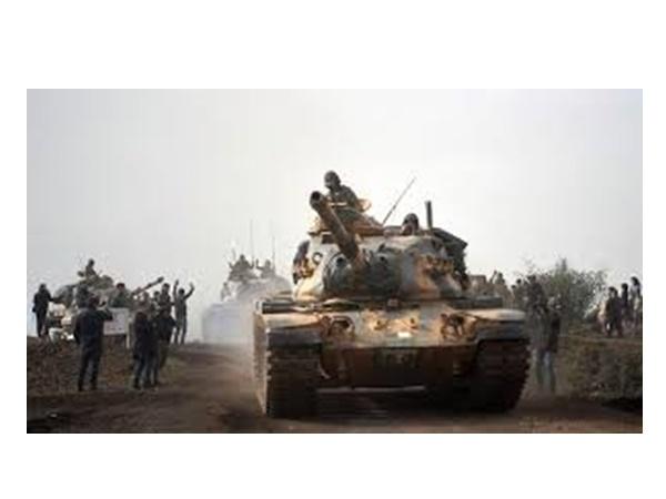 Turkey Army Advances Towards Afrin