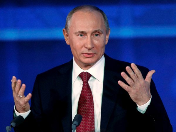 Russian President Election Vladimir Putin Wins