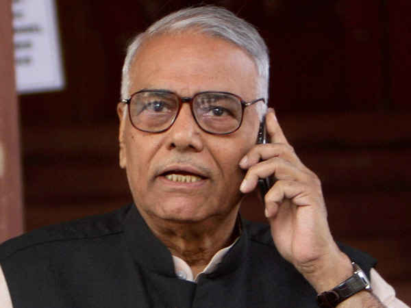 Party Gave Yashwant Sinha Lot But He Acted Like Congress