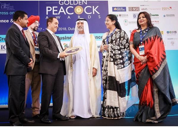 ദുബായിലെ അംബാസഡർ സ്കൂളിന് ഗോൾഡൻ പീക്കോക് പുരസ്കാരം