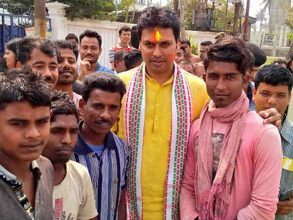 Internet Not New To India Existed During Mahabharata Days Tripura Cm Biplab Deb