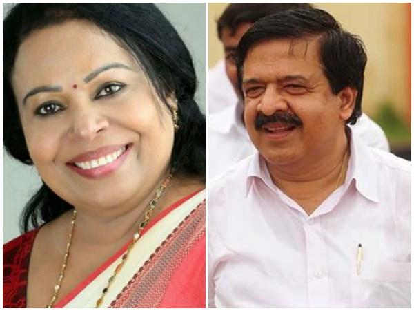 Sobhana George Against Ramesh Chennithala