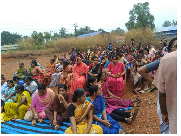 Protest Against Quilandi Orion Battery