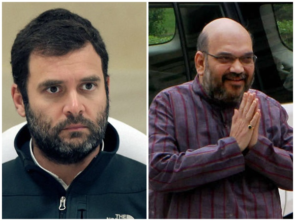 Election Officials Search Planes Of Rahul Gandhi And Amit Shah
