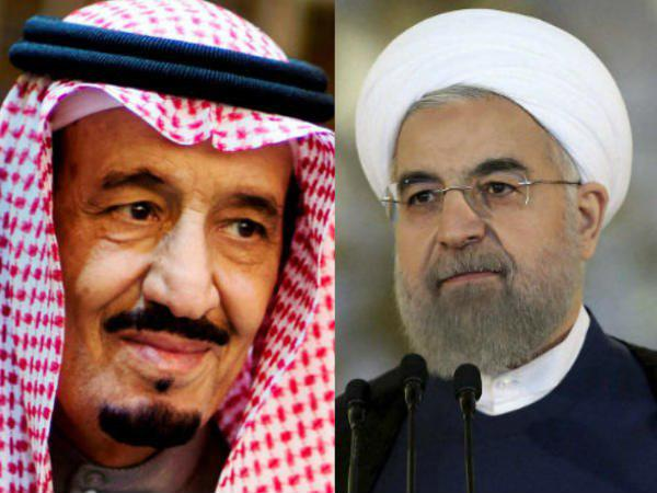 Face Face Saudi Arabia Iran Who Are More Strong