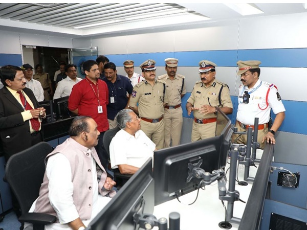 Pinarayi Vijayan In Hyderabad To Learn About Hyderabad Police Force