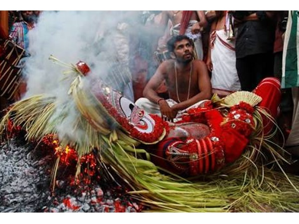 Pottan Theyyam Is An Integral Part Of North Kerala Cultural World