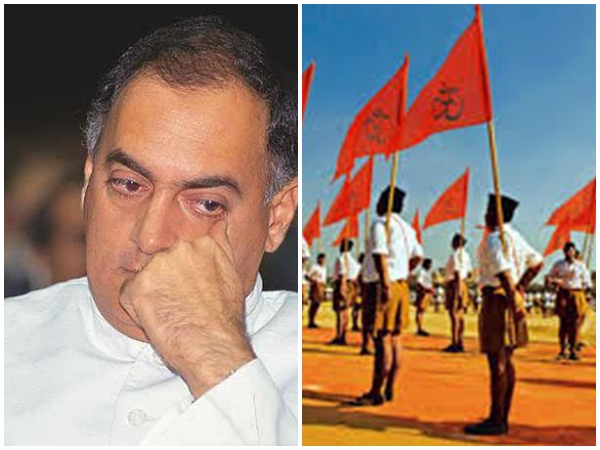 Then Congress Pm Candidate Rajiv Gandhi Sought Rss Help During 1984 Elections Claims Book