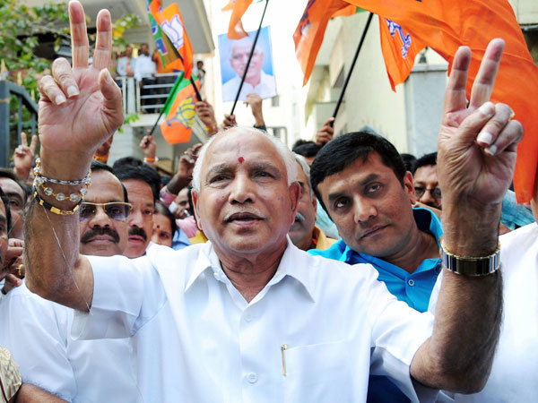 Just 27 Days Go Me Become Karnataka Cm B S Yeddyurappa