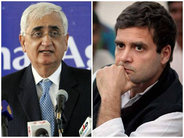 Congress Hand Stained With Muslims Blood Salman Khurshid
