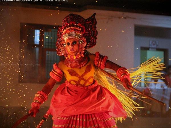 Kandanaru Kelan Theyyam Kannur