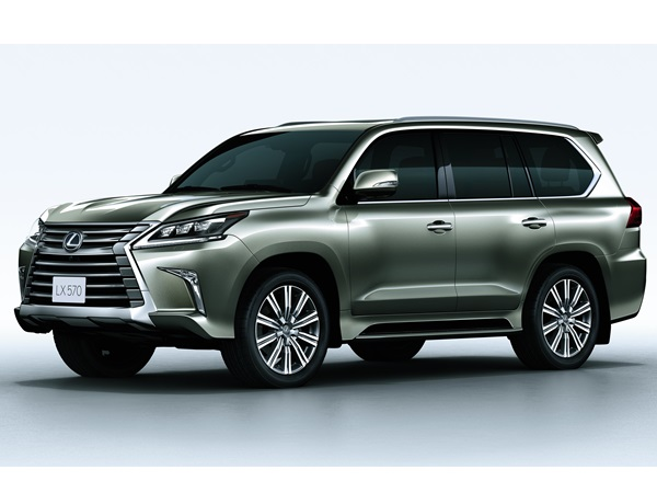Lexus Lx570 Suv Launched In India