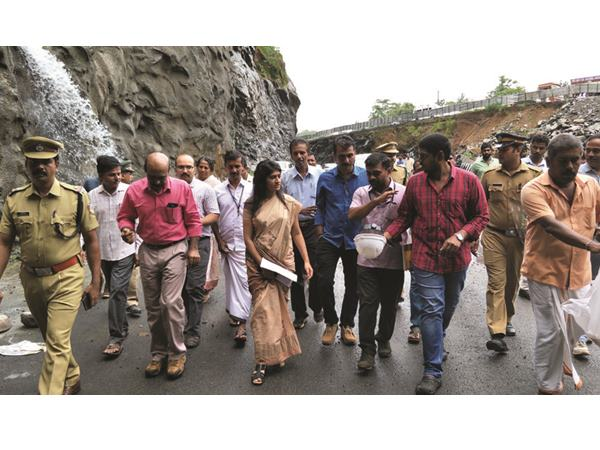 Thrissur District Collector Visits Kuthiran