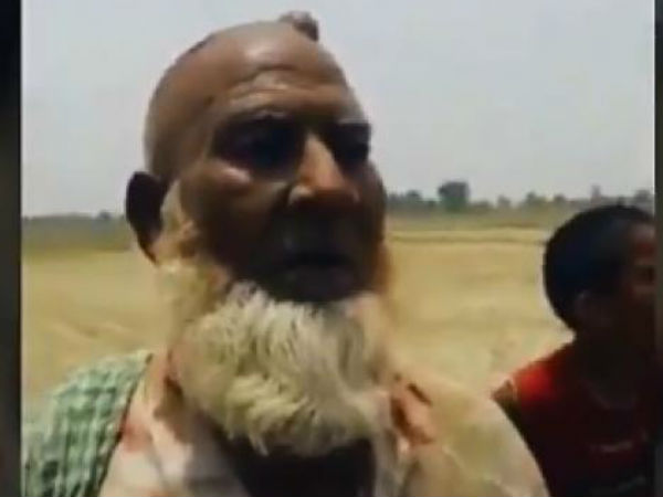 New Video Of Up Hapur Lynching Shows Man Forced To Confess Cow Slaughter