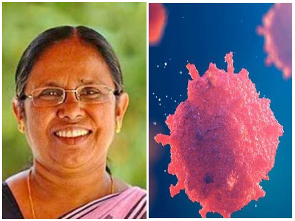 Nipah Virus Fb Post About Kk Shylaja
