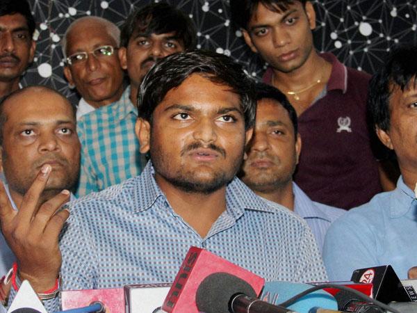 Vijay Rupani Has Resigned Says Hardik Patel