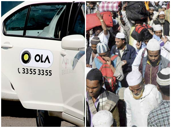 Ola Driver Threatens Man Because He Wanted To Go To A Muslim Colony In Delhi Gets Fired