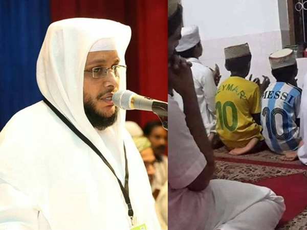 Muslim Religious Noushad Baqavi Against Football Lovers In Malabar