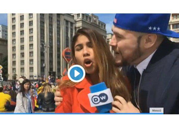 Dw Reporter Sexually Harassed During World Cup Broadcast