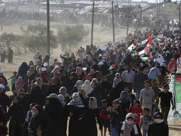 Gaza Protests Conitinue