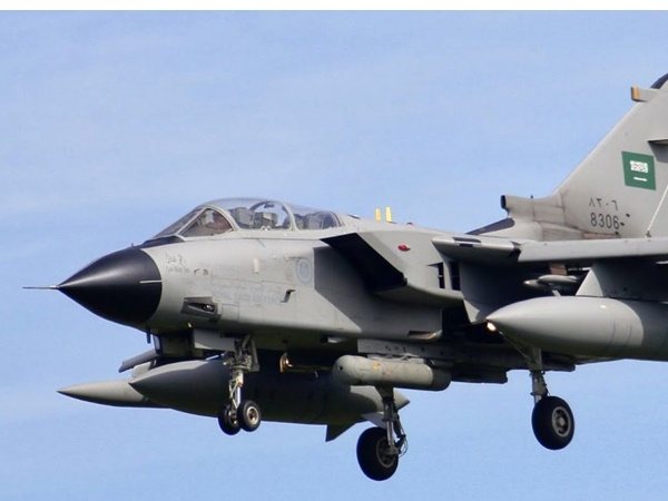 Tornado Fighter Jet Crashes In Saudi Arabia