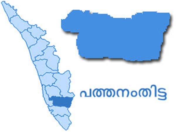 Pathanamthitta map