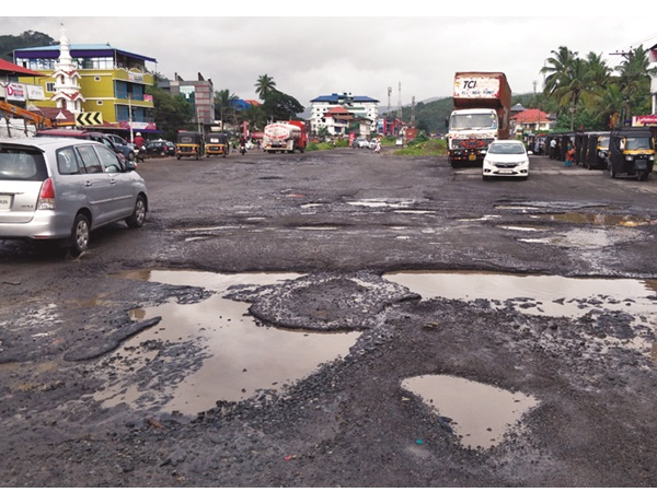News About Pathetic Condition Of Roads In Thrissur