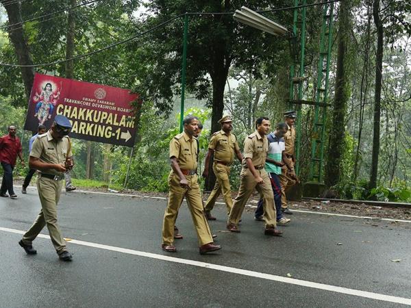 Pathanamthitta Local News Sabarimal Security