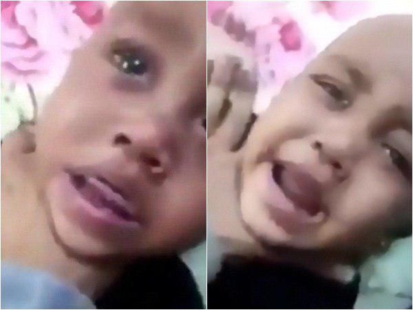 Saudi Living Mother Who Was Caught On Camera Beating Her Twins For Money Arrested