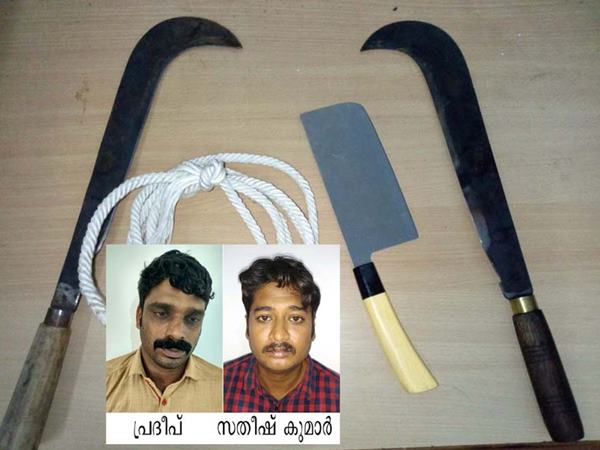 Malappuram Local News Gang Arrested With Weapons