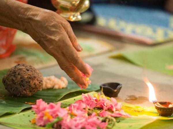 Karkidaka Vavu Bali Is Ritual Performed Hindus Honour Dead Ancestors