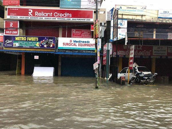 Flood in Thrissur