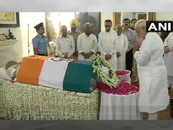 Political Leaders Paid Tribute To Former Prime Minister Atal Bihari Vajpayee