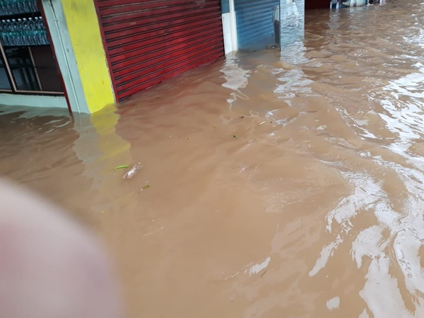 Relief Flood Thrissur City Water Level Chalakkudy River