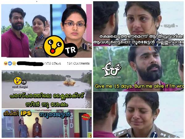 Social Media Trolls On End Of Parasparam Serial And Pays Homage To Deepthi Ips