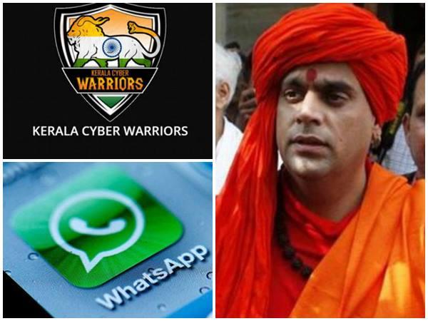 Kerala Cyber Warriors Trapped Hindu Mahasabha Leader Chakrapani On Whatsapp Chat
