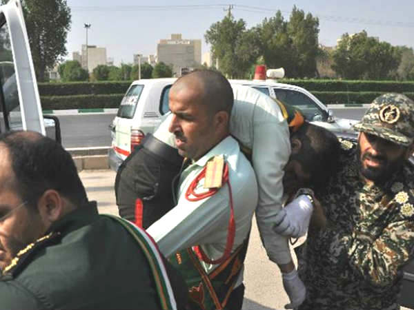 State Tv Gunmen Attack Military Parade Iran Ahvaz