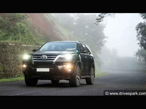 Toyota Fortuner India S Favourite Premium Suv