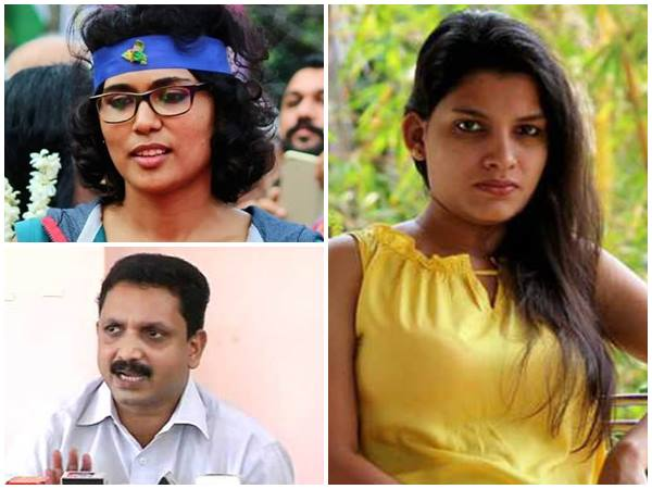 Sabaraimala Issue Rehana Fathima And K Surendran Met So Many Times Resmi Nair Raise Alleagation