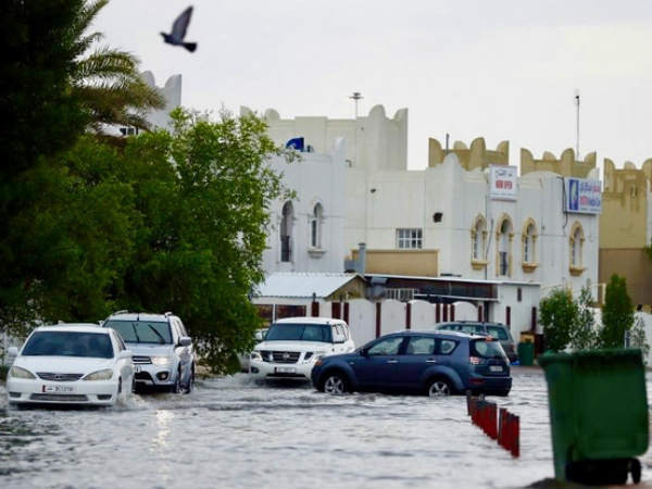 Qatar Floods After Almost A Years Rain Falls In One Day