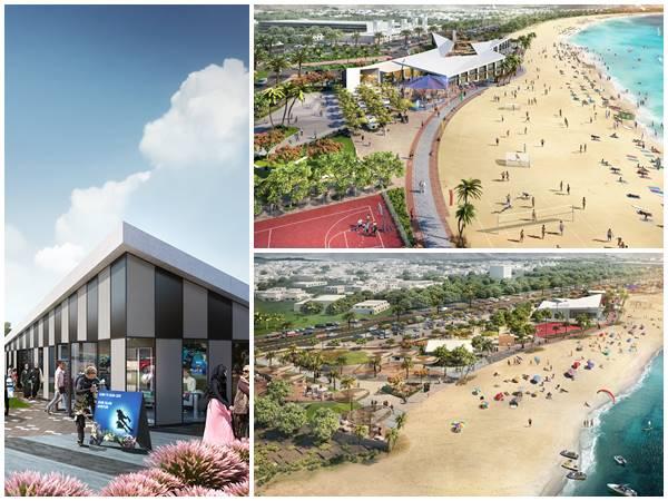 New Developmental Plans In Khorfokkan Beach Sharjah