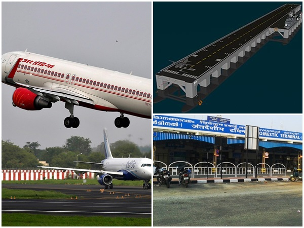 Kerala Govt Plans Offshore Runway For Trv Airport
